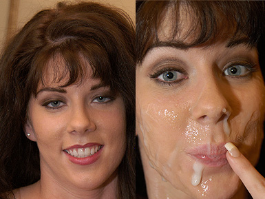 That was bukkake before and after shall